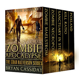 Cover image of Zombie Apocalypse: The Chad Halverson Series
