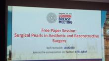 Gran Exito en la presentación de nuestro trabajo de reconstrucción mamaria con lipoinjerto e implant