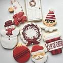 1 Dozen Christmas Cookie Set