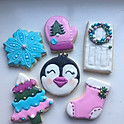 1/2 Dozen Christmas Cookies