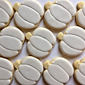 Plain Iced Cookies
