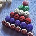 12 Holiday Macarons
