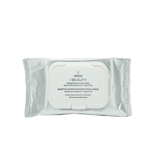 IBEAUTY  Refreshing Facial Wipes (30 towelettes)