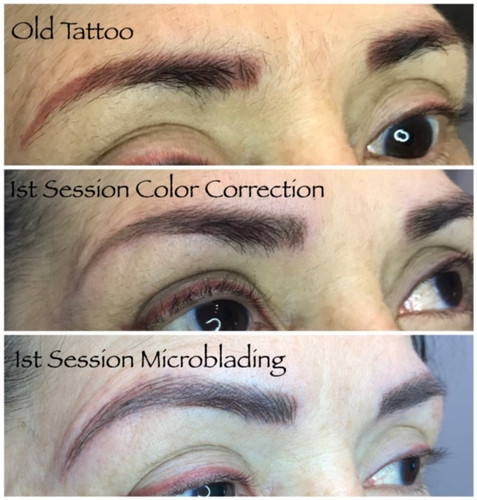 Posh Aesthetics, Santa Monica - Microblading - Tattoo Correction