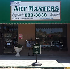 Art Masters of El Paso Storefront with Parking