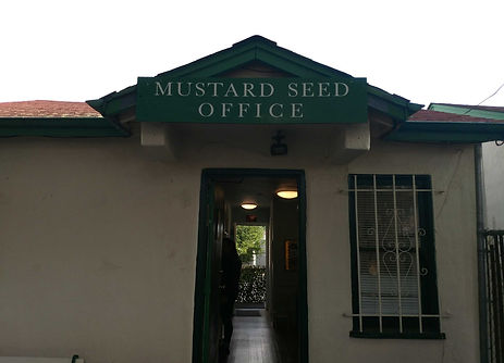 Entrance to Mustard Seed Schol