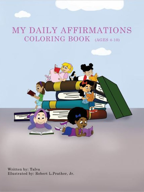 Daily Affirmations Coloring Book