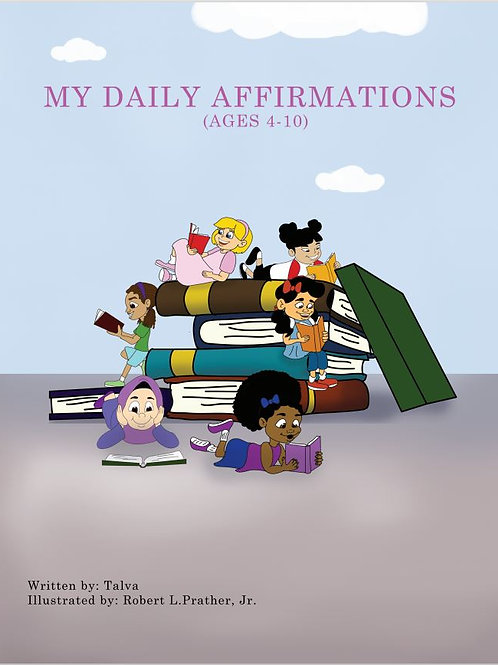 My Daily Affirmations Reading Book
