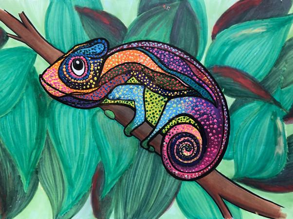 2019 Bashful Chameleon