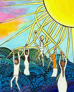 May Pole Sun Dance