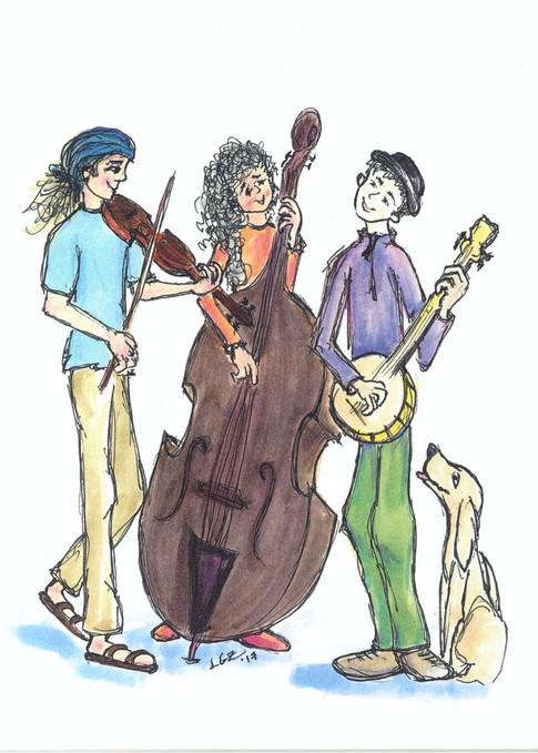 Alley Musicians