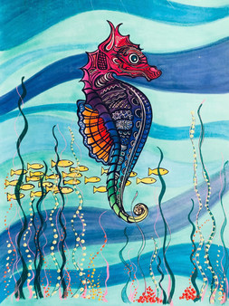 Dignified Seahorse