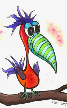 Striped Snout Bird