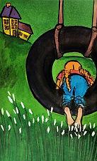 2018 Girl in a Tire Swing