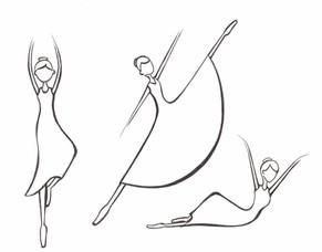 The Three Ballerinas