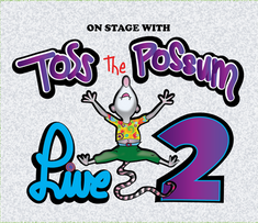 Toss The Possum Live 2 Album Cover