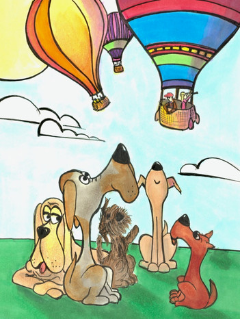Pooches and Balloons