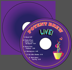 Potent Brew Live CD