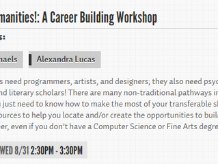 Speakers at PAX Dev 2016: Oh, the Humanities!: A Career Building Workshop