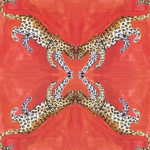 Leopards on Coral by Larsen McDowell