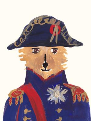 Norwich Terrier Dog as Napoleon by Jackie Clark Mancuso