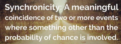 Coincidences do not exist.