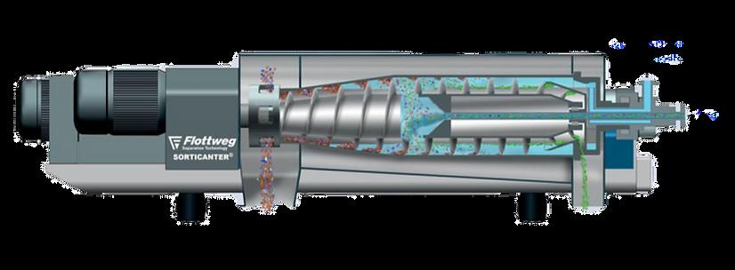 FLOTTWEG SORTICANTER Ντεκάντερ Decanter  Φυγοκεντρικά Φυγοκεντρικό Διαχωριστικό Ελαιόλαδου ελαιόκαρπού Διαχωριστήρας Διαχωριστήρας Ελαιόλαδου ελαιόκαρπού Διαχωριστήρας Λάδι Ελαιουργικά Μηχανήματα Αλεστικά