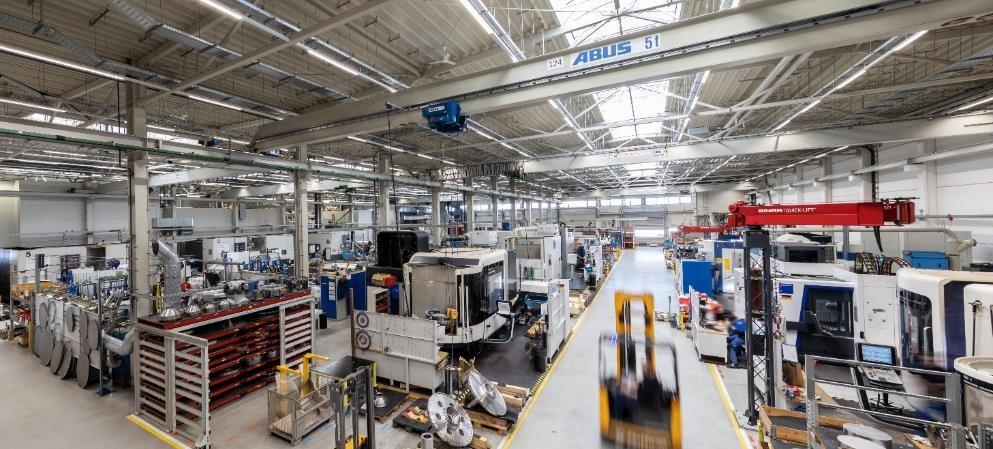 Flottweg Factory