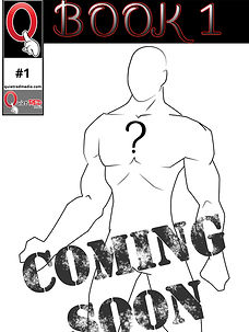 Coming soon, the first comic from Quiet Red Media