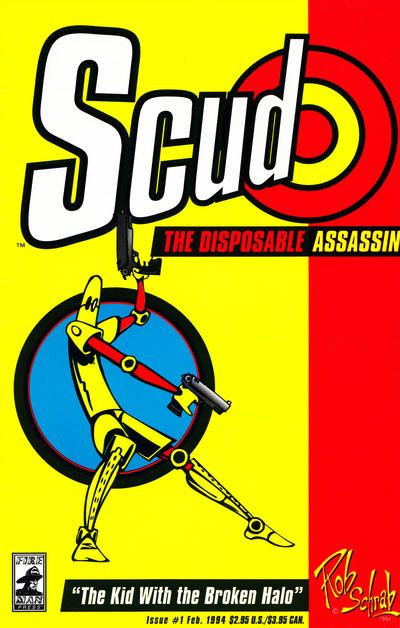 (Scud: The Disposable Assassin #1, 1994, Fireman Press)