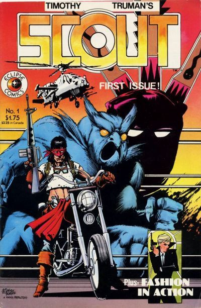 (Scout #1, 1985, Eclipse Comics)