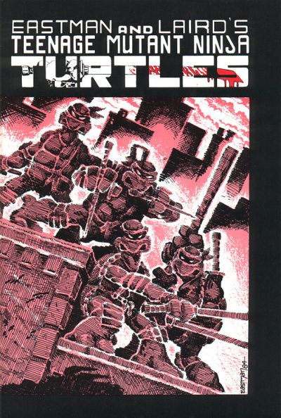 (Teenage Mutant Ninja Turtles #1, 1984, Mirage Studios)