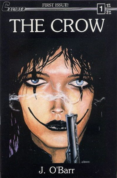 (The Crow #1, 1989, Caliber Press)