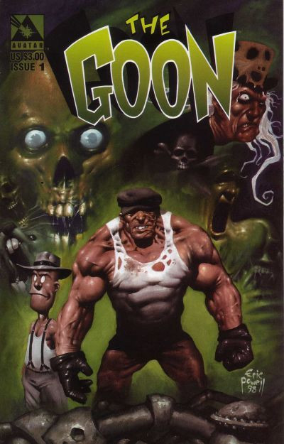 (The Goon #1, 1999, Avatar Press)