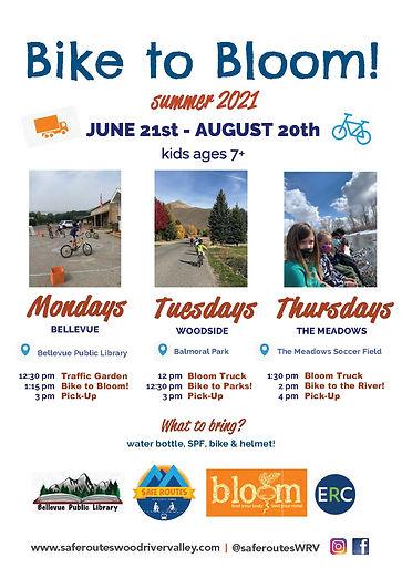 summer kids bike program
