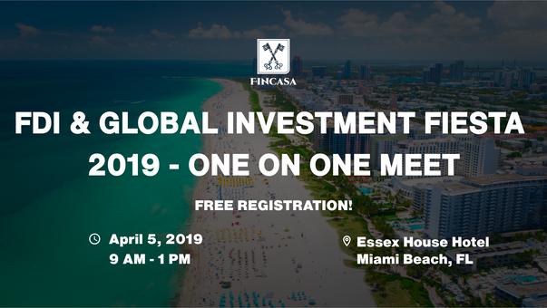 FDI & Global Investment Fiesta 2019