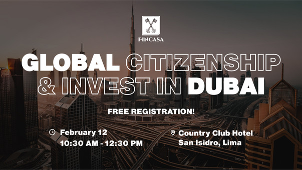 Global Citizenship & Invest in Dubai