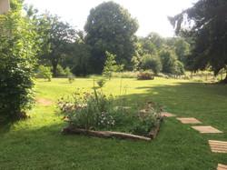Beau jardin du Perche