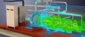Thermal transfer simulation
