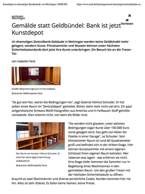 MDR 180219 Kunstdepot in ehemaliger Bund