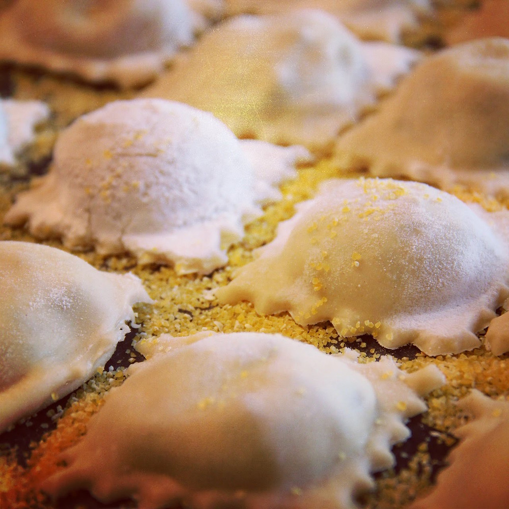 Saffrons's Table: Meat, Spinach & Ricotta Ravioli