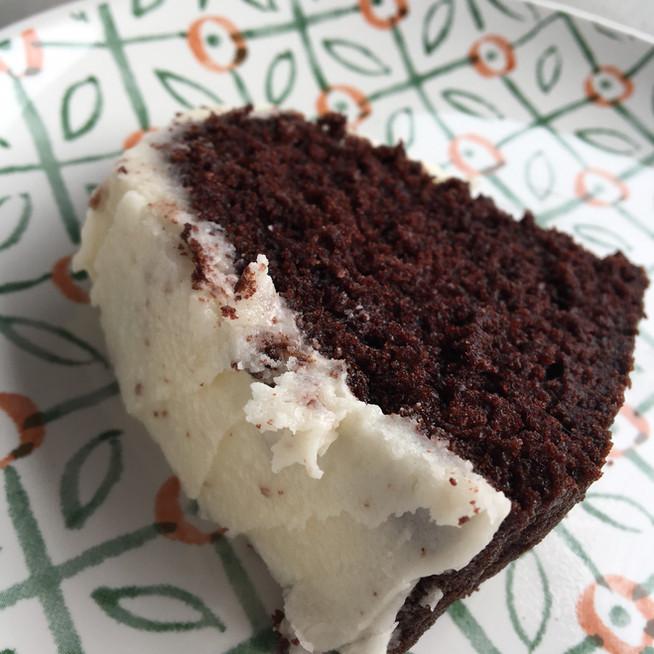 Mrs. McLaughlin's Sour Cream Chocolate Cake