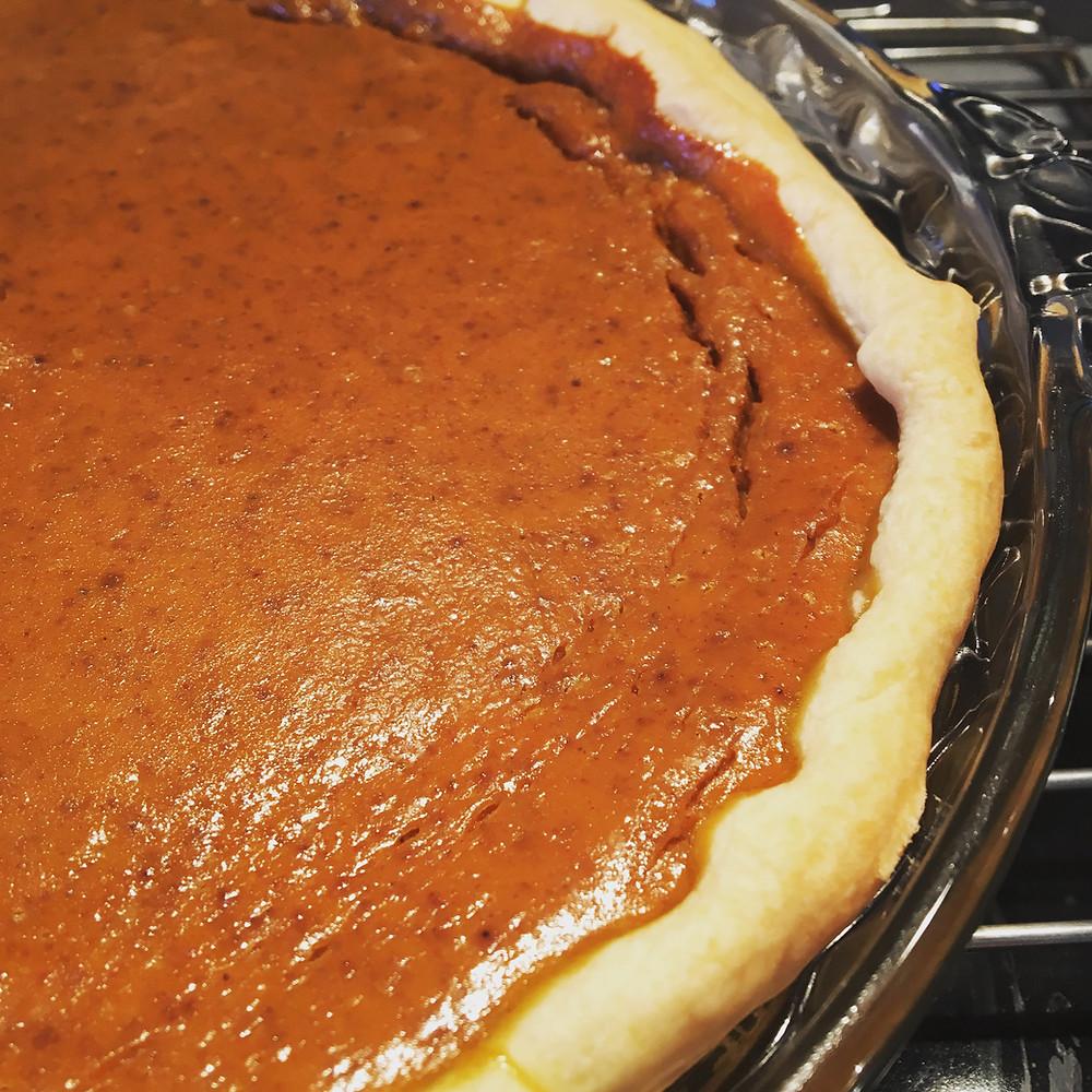 Saffron's Table: Pumpkin Pie