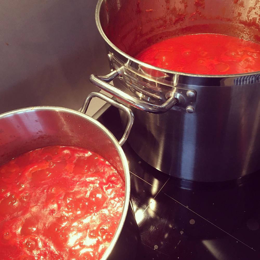 Saffron's Table: Red/Meat Sauce