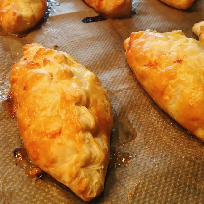 Spiced Pork Hand Pies with Anise