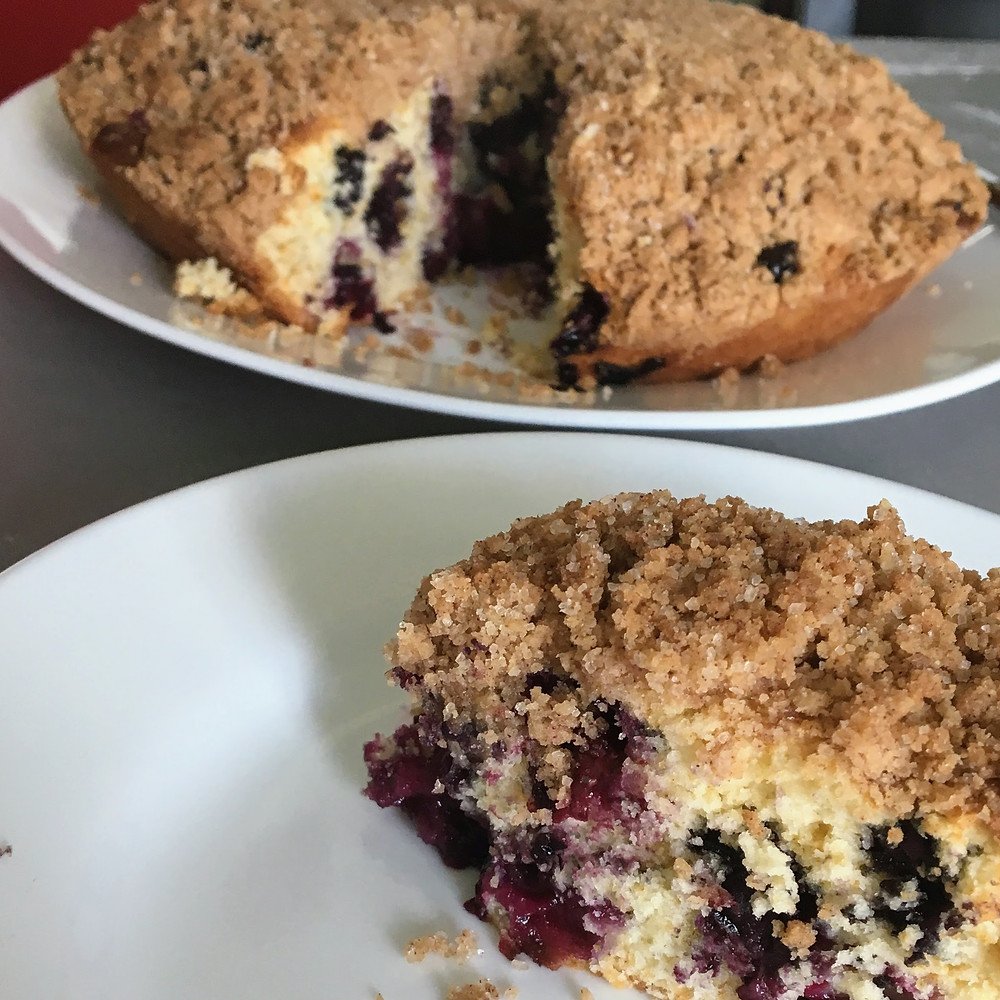 Saffron's Table: Blueberry Buckle