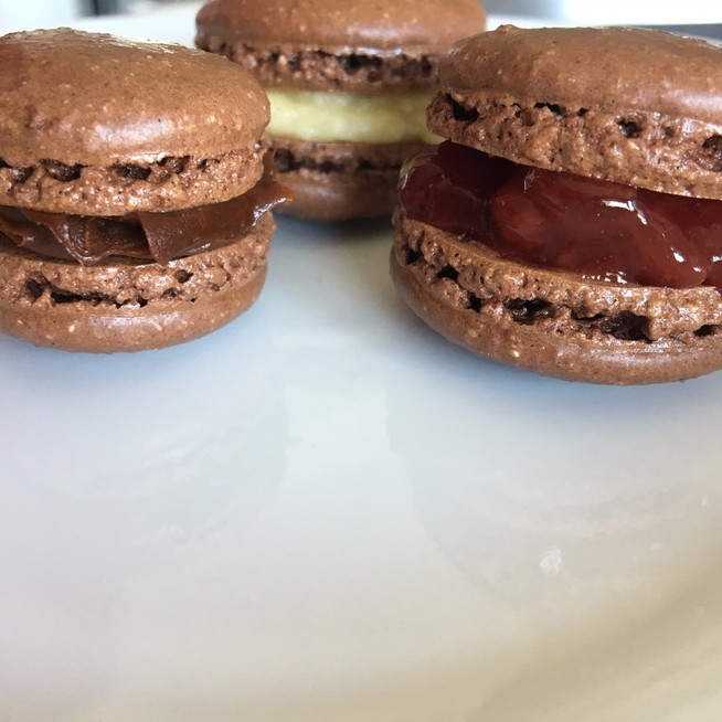 French Macarons: Chocolate