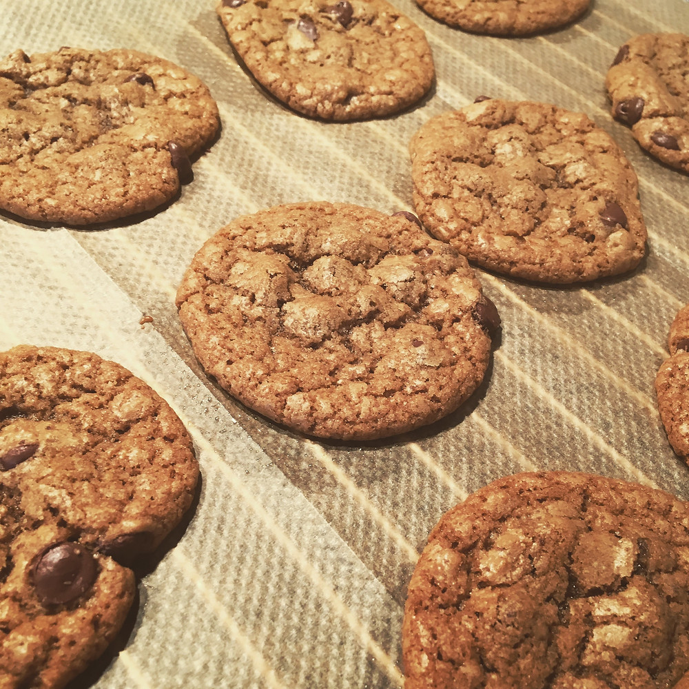 Saffron's Table: Chuck's Chocolate Chip Cookies