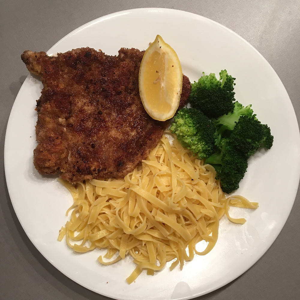 Saffron's Table: Pork Schnitzel