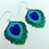 Thumbnail: Peacock Earrings (preorder)